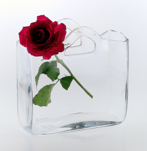 Square Vase | Bag & Handles